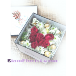 017812BX Red Roses and Ferrero  in Box