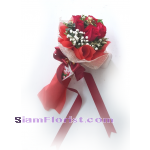 1204 Bouquet of Red Roses