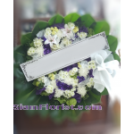 01965w Sympathy Flowers Wreath