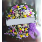 01973w Sympathy Flowers Wreath