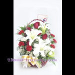 1133 Basket of Flowers. more detail click