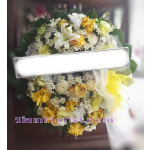 01972w Sympathy Flowers Wreath