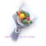 01864VE Take Good Care Bouquet of Vegetable