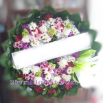 01970w Sympathy Flowers Wreath