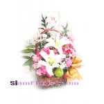 01946n Basket of Mixed Flowers