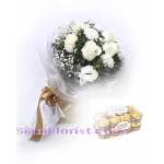 01952FE  Bouquet of Roses  Click for detail