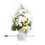 1126 Vase of Flowers. more detail click
