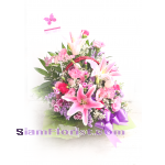01903 Basket of Mixed Flowers