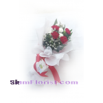 1188 Bouquet of carnation Flowers. more detail click