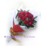01986n of Bouquet of Red Roses