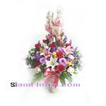 1804AR Artificial  Flowers Arrangement  more detail click