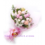 01942na  Bouquet of Mixed Flowers  Click for detail