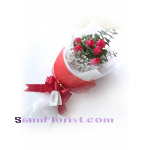 01869tu   Bouquet of Tulips more detail click