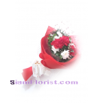 MINI1166. Bouquet of Mixed Flowers..click for detail
