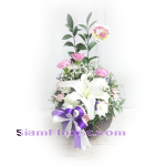 1182 Basket of Flowers. more detail click