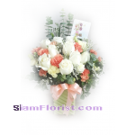 1185 Vase of Flowers. more detail click