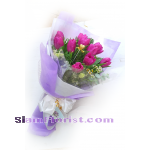 01868tu   Bouquet of Tulips more detail click