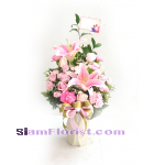 1117 Vase of Flowers. more detail click