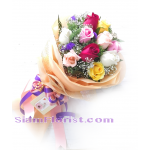 01947na  Bouquet of Roses  Click for detail