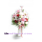 AR2479 Artificial  Flowers Arrangement  more detail click