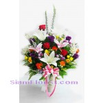 AR2478 Artificial  Flowers Arrangement  more detail click