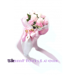 1041  Bouquet of Mixed flowers and roses.. more detail click