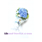 HG1046 Bouquet of  Hydrangeas  Click for detail