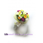 1048  Bouquet of Mixed flowers.. more detail click