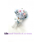 HG1047 Bouquet of  Hydrangeas mixed flowers  Click for detail