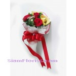 1032 Bouquet of Mixed Flowers and Ferrero