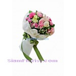 1021  Bouquet of Carnations mixed flowers Click for detail
