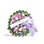 W2379  Sympathy Flowers Wreath