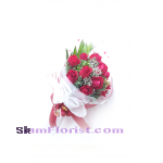 RR1158. Bouquet of Red Roses..click for detail