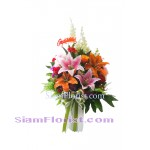 AR2431 Artificial  Flowers Arrangement  more detail click