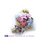 HG1147. Bouquet of Mixed Flowers..click for detail