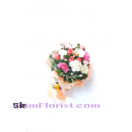 1084 Bouquet of Carnations. more detail click