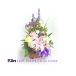 1144 Basket of Flowers. more detail click