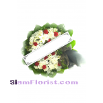 W1062  Sympathy Flowers Wreath  for detail click