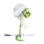 WF1065  Sympathy Fan Wreath