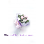 MINI1154. Bouquet of Mixed Flowers..click for detail