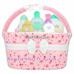 BA2429 Baby Gift Set with Flowers Arrangement  more detail click