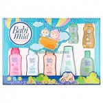 BA2430 Baby Gift Set with Flowers Arrangement  more detail click