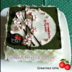 4076  Greentea Latte Cake