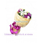1017  Bouquet of Carnations mixed flowers Click for detail