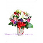 2399  Vase of Flowers  Click for detail