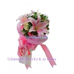 1019  Bouquet of Carnations mixed flowers Click for detail