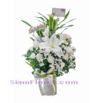 2434  Vase of Flowers  start US$80