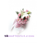 1059 Bouquet of Single Lily. more detail click