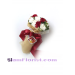 1002  Bouquet of Carnations mixed flowers Click for detail