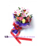 2512  Bouquet of Bouquet Flowers  click for detail..
